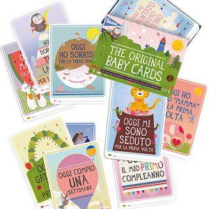 """milestone-baby-cards-cartoline-""""prime-tappe-importanti""""-milestone-baby-cards-testo-in-italiano-regalo-di-nascita-perfetto-album-dei-ricordi_12406"""
