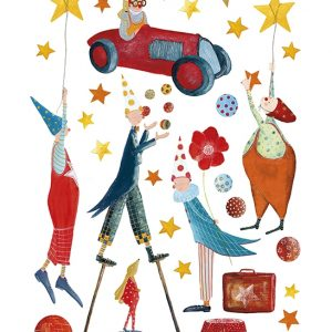 sticker-mural-cirque-clowns-etoiles-garcon-enfant-bebe-deco-murale-lilipinso-s0954_a3-clowns